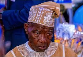 Alhaji Lateef Jakande (1st Civilian GOvernor of Lagos State)
