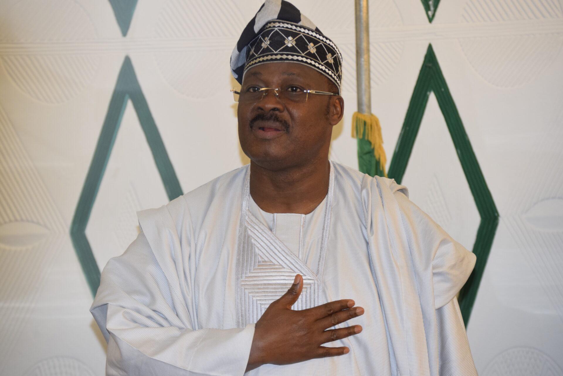 Gov Ajimobi at Western Nigeria Governors' Forum