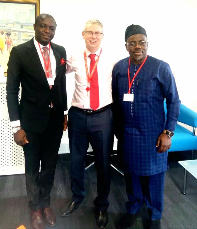 DG Seye Oyeleye visits DFID UK in Abuja 3
