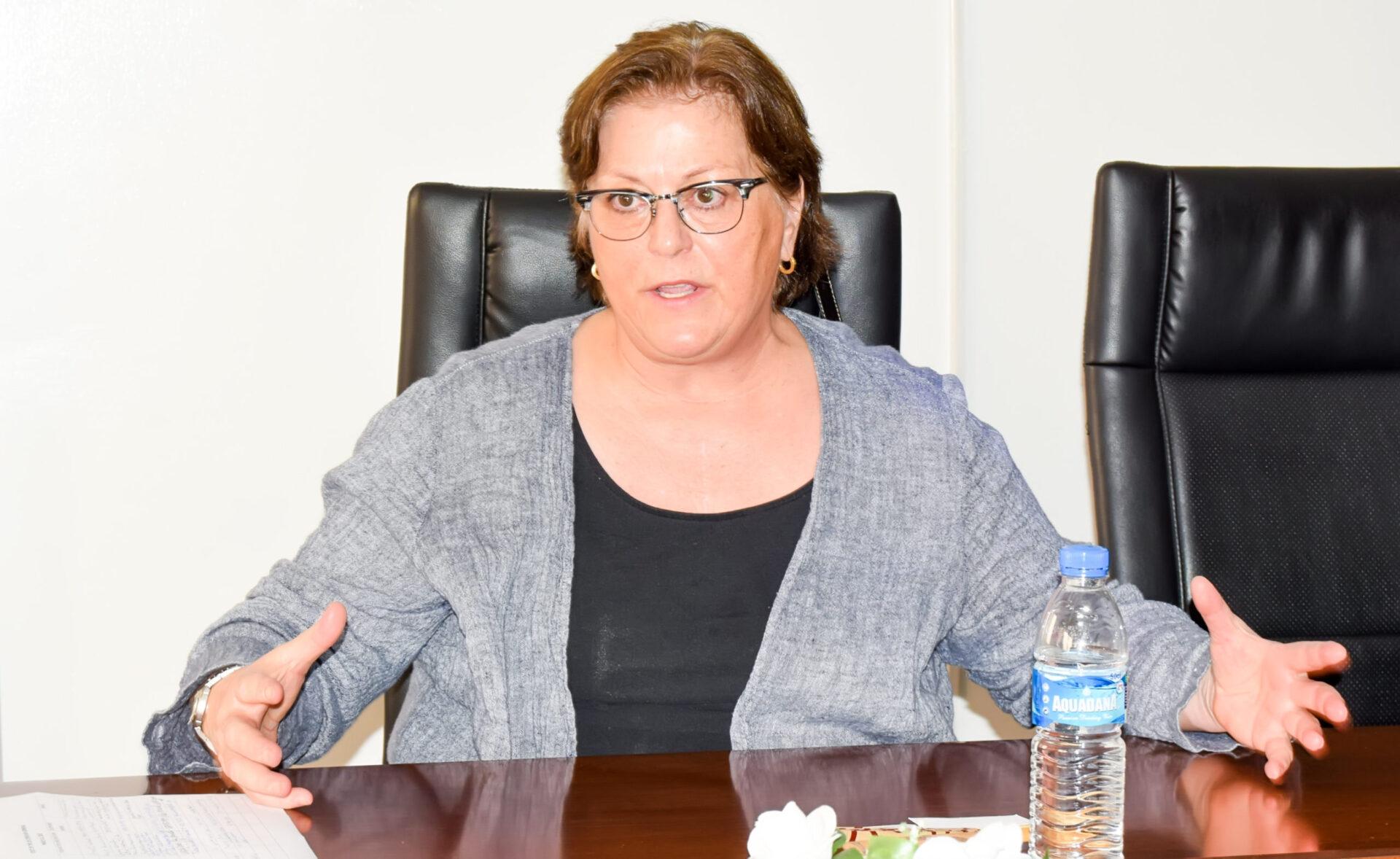 US Consul General Claire Pierangelo
